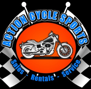 action cycle sports logo