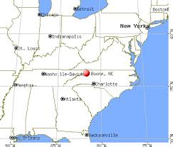 Boone on US Map